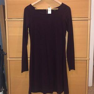Maroon/ Purple Dress